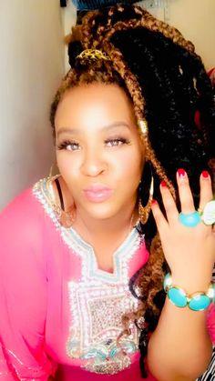African American Braids, African Love, Celebrity Couples, Celebrity Photos, Celebrity Style, Poetic Justice Braids, Elegant Makeup, Bull Horns, Goddess Braids