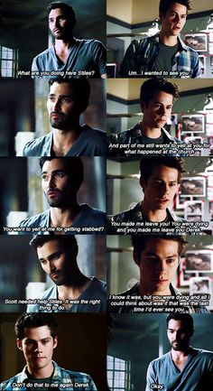JUST DON'T #sterek #hale #stiles