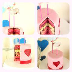 Recette de layer cake pour la saint valentin, avec glacage au nutella et recouvert de pâte à sucre aux chamallows faite maison http://www.sibo-sibon.com/blog/recette-layer-cake-saint-valentin #layercake #amour #pateasucre #nutella