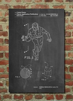 Bowling Ball Patent Poster Bowling Decorations by PatentPrints