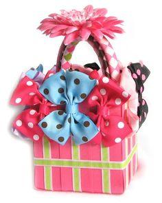 Hairbow gift basket tut.