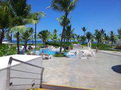 desde el restaurante...  Hard Rock Punta Cana