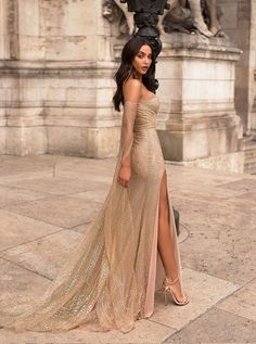 Mermaid Off The Shoulder Long Sleeves Champagne Prom Dress With Split fashion champagne sequined long prom dresses, off the shoulder mermaid evening dresses, long sleeves junior prom dresses with split Dusty Pink Dresses, Petite Dresses, Dresses Uk, Sexy Dresses, Long Dresses, Dress Long, Summer Dresses, Sleeve Dresses, Dresses Dresses