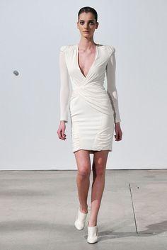 Altuzarra Fall 2009 Ready-to-Wear Fashion Show - Denisa Dvorakova