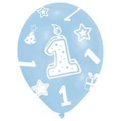 Party Supplies for Kids and Adults. Party Bags and Fillers, Birthday & Celebration Partyware, Party Decorations and Balloons. First Birthday Balloons, Boy First Birthday, Online Party Supplies, Kids Party Supplies, Latex, Bougie 1 An, Hapoy Birthday, Helium Balloons, 1st Birthdays