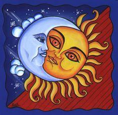 6.-al sol ardiente y a la luna fría.