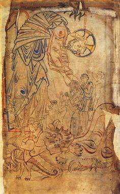 The Tiberius Psalter, c. 1050, London, British library