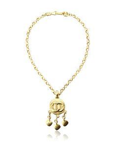 CHANEL Satin Gold Logo Pendant Necklace, http://www.myhabit.com/redirect/ref=qd_sw_dp_pi_li?url=http%3A%2F%2Fwww.myhabit.com%2Fdp%2FB00HSIPJO4