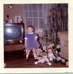 Merry Christmas to you all! Oh the joy of Christmas morning back in the 50s!..and even now, so many years later, up early and excited to watch my grandkids open their gifts!