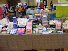 Our table at the Mommy Matters Mom 2 Mom Show at Ridley College, March 24, 2012.