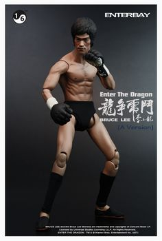 Enterbay Bruce Lee Enter The Dragon Version A in 1 6 Scale Mint Condition | eBay