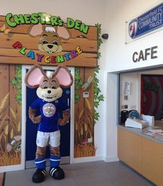 Chester the Field Mouse #football #mascot #costume #mouse