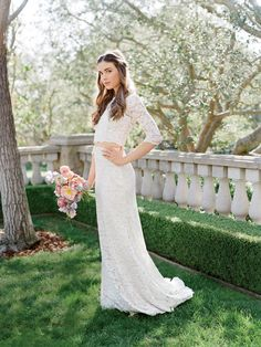 7 Swoon-Worthy Lace Dresses    TheKnot.com