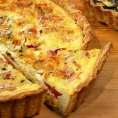 Breakfast Quiche Recipes - Martha Stewart Recipes for Breakfast Quiche - Delish.com
