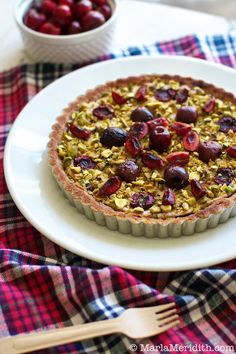 Very Cherry Tart with Almond Crust (Gluten Free)