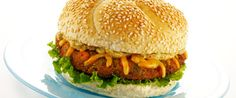 Colby-Jack Topped Salmon Burgers | Wisconsin Milk Marketing Board