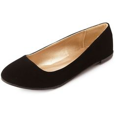 Charlotte Russe Essential Round Toe Ballet Flats and other apparel, accessories and trends. Browse and shop 16 related looks.
