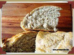 Pan integral casero - pormisperolas