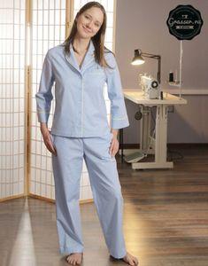 Женские пижамные брюки, выкройка №545