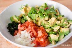 Porque No todos los guacamole son iguales, Mira esta receta natural