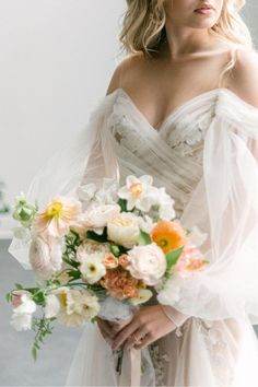 "From the editorial ""A Wedding Editorial Inspired by Art Nouveau Era Perfume Ads."" The prettiest blooms, an ethereal dress, and a DIY Parfumerie bar make up this romantic wedding shoot in Canada. You don't want to miss the dreamy details! Photographer: @laceandluce #etherealbride #weddingeditorial #weddingphotoshoot #canadawedding #weddingbouquet #bridebouquet Wedding Photoshoot, Wedding Shoot, Wedding Attire, Ethereal Wedding Dress, Romantic Wedding Flowers, Bridal Bouquet Pink, White Wedding Bouquets, Vintage Wedding Theme, Relaxed Wedding"