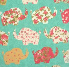 We adore this patchwork-style print, complete with elephants from @higgsandhiggs! #fabriclove #sewaholic #sewcialists #sewingproject #dressmaking