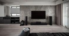 Cheese Photograhpy on Behance Living Room Tv, Living Room With Fireplace, Living Room Modern, Living Room Interior, Living Room Designs, Modern Interior, Interior Architecture, Interior Design, Tv Wall Design