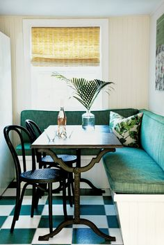 Take a look inside the home tour of interior designer, Sara Gilban's Long Island home from our Spring Issue. The home is filled with patterns, colors and textiles. For more home tours, check out domino.com.