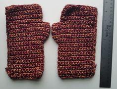 Handmade Medium Metallic Fingerless Gloves