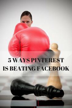 Pinterest Expert Anna Bennett shares 5 ways Pinterest is beating Facebook. Read the Forbes article here http://www.forbes.com/sites/onmarketing/2015/02/04/five-ways-pinterest-is-beating-facebook/   Pinterest For Business