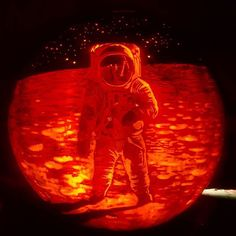 Pin for Later: An Artist Created the Most Insane Jack-o'-Lanterns We've Ever Seen  And after!