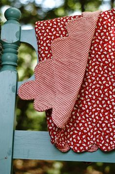 Nice red quilt