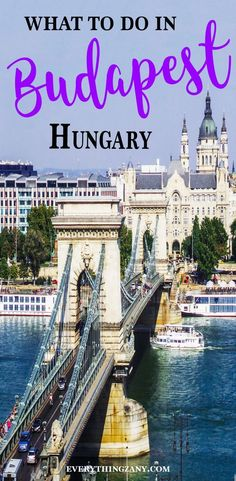 #Budapest #Hungary | Points of Interest: Best Things to do in Budapest (Hungary) | Budapest is located in the heart of Europe. The capital Hungary and considered to be one of the most beautiful cities in Europe. #BestCities