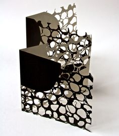 Book of beads, laser cut and screen printed, signed and numbered, limited edition 20