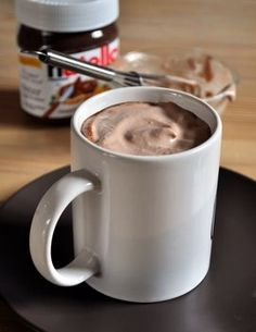 Nutella Coffee with Nutella Whipped Cream