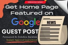 I will publish your article on a high DA google news approved website with a do-follow backlink that will significantly help to boost your Google search rankings and domain strength.
