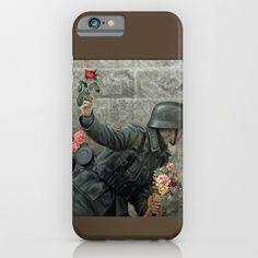 Buy Soldier of Peace, Stop the War  iPhone & iPod Case by mr0frankenstein. Worldwide shipping available at Society6.com. Just one of millions of high quality products available.