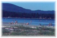 Rathtrevor Beach, British Columbia. apparently it's the shangri-la of camping here, but reservations in advance are necessary....