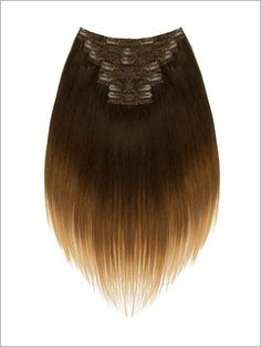 """""""Seven Piece Balayage"""" - 18"""" Remy Hair Clip-In Sets - (Blonde Brownie) 114g - Lord & Cliff"""