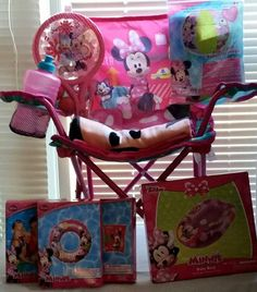 Minnie Mouse Summer Gift Basket