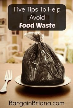 Five Tips To Help Avoid Food Waste :: If you really want to do something that will impact your world today, help avoid food waste on a daily basis. This alone will do wonders!