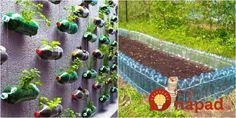Muž zbieral celú zimu plastové fľaše: Na jar ich priniesol do záhrady a susedia sa nestačili čudovať, akú skvelú vec vymyslel!