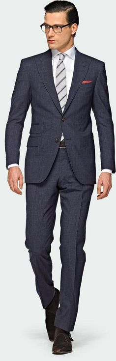 Blue wool by suitsupply