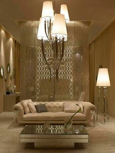 Luxury Interiors, Ultra High End Signature Collection, Designer Furniture, Mirrors, Lighting & Decor courtesy of InStyle Decor