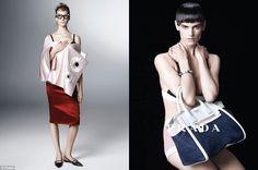 Prada's Spring / Summer  2013 new campaign