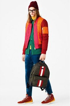 Colorfull Cool Men's Outfit - Bally Men's Spring Summer 2017 2