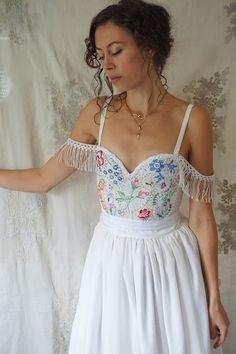 Hey, I found this really awesome Etsy listing at https://www.etsy.com/au/listing/256053084/reserved-meadow-bustier-wedding-gown-or