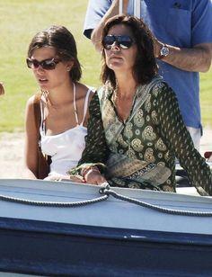 Carlota Casiraghi y Carolina de Mónaco #caroline #princess #charlotte #monaco #grimaldi