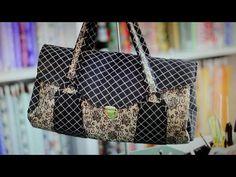 ▶ Bolsa em tecidos Caroline - Maria Adna Ateliê - Bolsas tecidos - Aula Bolsas - YouTube