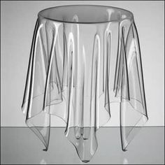 Ghost table - cool!